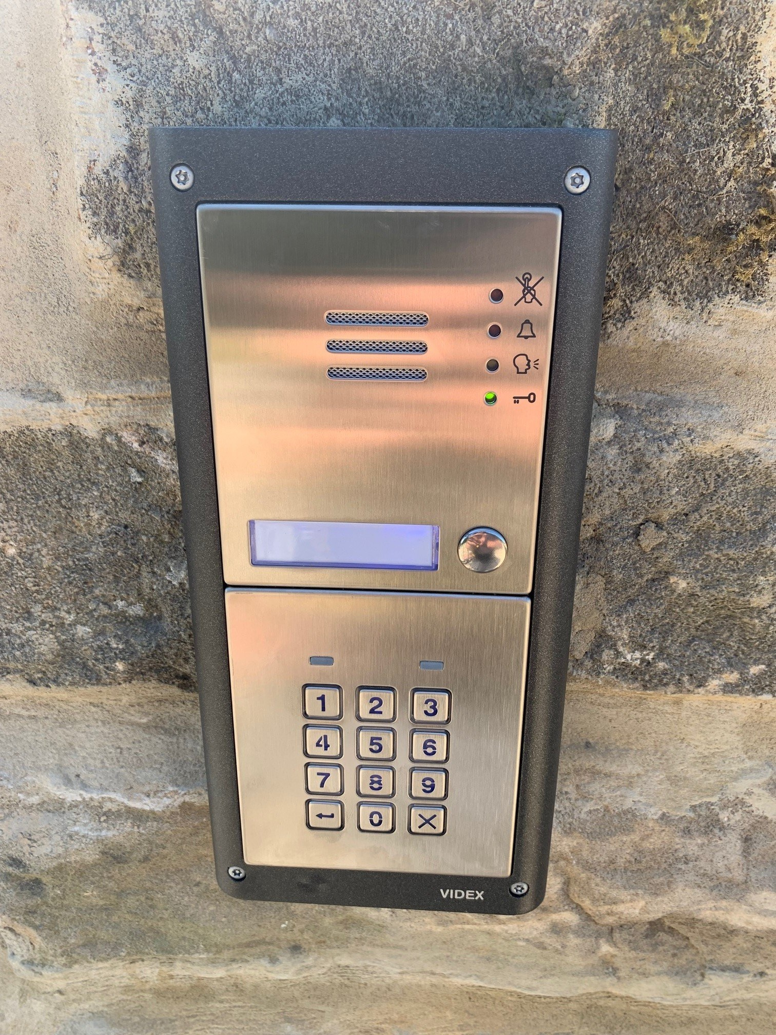 Wireless GSM Entry Panel