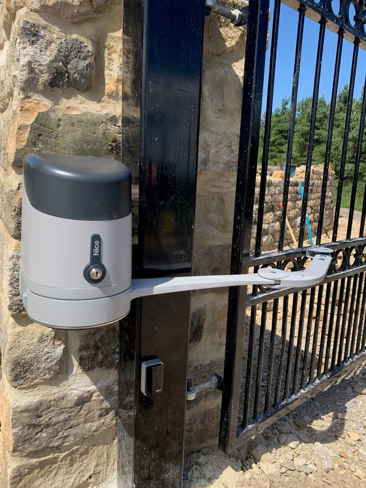 Automatic Gate Arms
