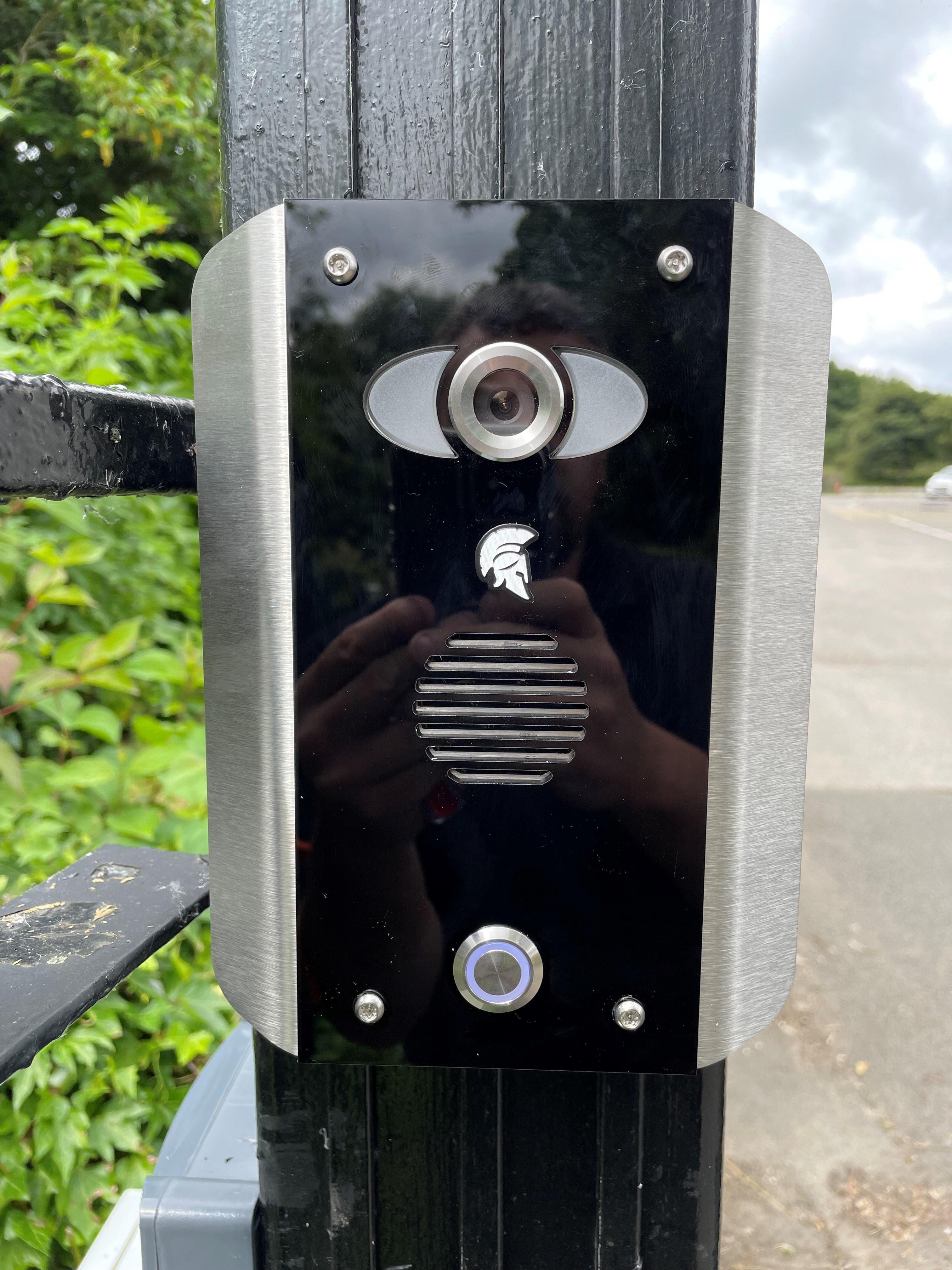 Wireless GSM Video Intercom System